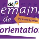 Semaine de l'orientation du CIDJ 2015